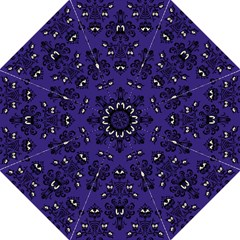 Purple Haunted Mansion Wallpaper Folding Umbrella by Mansion
