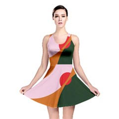 Decorative Abstraction  Reversible Skater Dress by Valentinaart