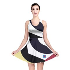 Digital Abstraction Reversible Skater Dress by Valentinaart