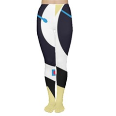Digital Abstraction Women s Tights by Valentinaart