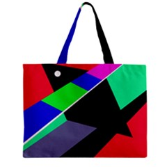 Abstract Fish Zipper Mini Tote Bag by Valentinaart