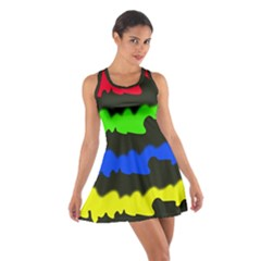 Colorful Abstraction Racerback Dresses by Valentinaart