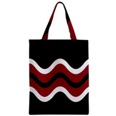 Decorative Waves Classic Tote Bag by Valentinaart
