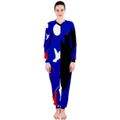Night Birds  Onepiece Jumpsuit (ladies)  by Valentinaart
