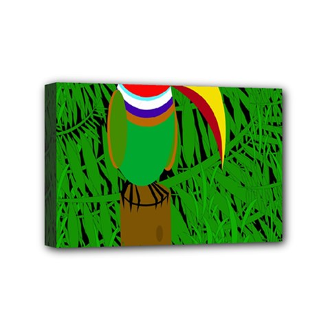 Toucan Mini Canvas 6  X 4  by Valentinaart