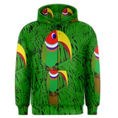 Toucan Men s Zipper Hoodie by Valentinaart