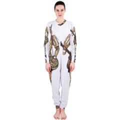 Cat Musician 01 Onepiece Jumpsuit (ladies)  by felissimha