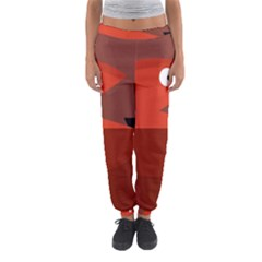 Red Monster Fish Women s Jogger Sweatpants