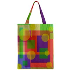 Colorful Geometrical Design Classic Tote Bag by Valentinaart