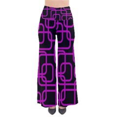 Purple And Black Elegant Design Pants by Valentinaart