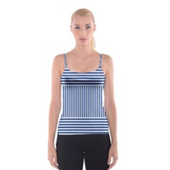 Nautical Striped Spaghetti Strap Top by olgart