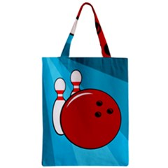 Bowling  Classic Tote Bag by Valentinaart