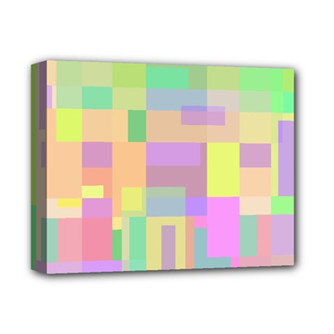 Pastel Colorful Design Deluxe Canvas 14  X 11  by Valentinaart