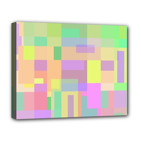 Pastel Colorful Design Deluxe Canvas 20  X 16
