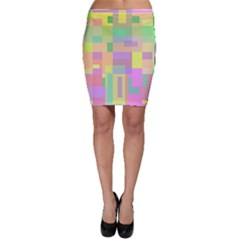 Pastel Colorful Design Bodycon Skirt by Valentinaart