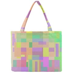 Pastel Colorful Design Mini Tote Bag by Valentinaart