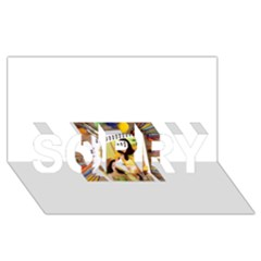 13654176 10209772215964592 4375173679575027886 N Sorry 3d Greeting Card (8x4)