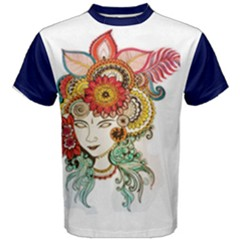 Colorful Artwork Men s Cotton Tee by Contest2484531