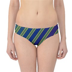 Decorative Lines Hipster Bikini Bottoms by Valentinaart