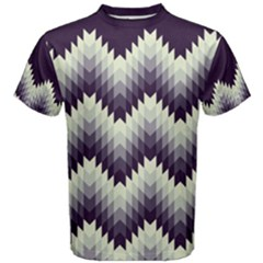 Pattern Men s Cotton Tee by Wanni