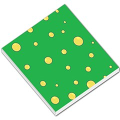 Yellow Bubbles Small Memo Pads by Valentinaart