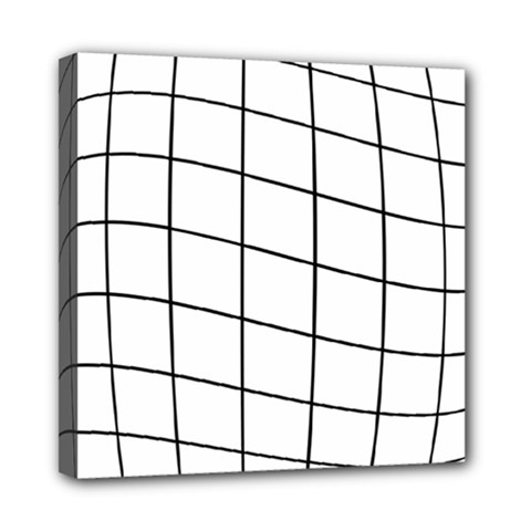 Simple Lines Mini Canvas 8  X 8