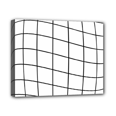 Simple Lines Canvas 10  X 8  by Valentinaart