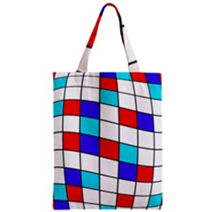 Colorful Cubes  Zipper Classic Tote Bag by Valentinaart