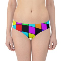Colorful Cubes  Hipster Bikini Bottoms by Valentinaart
