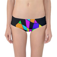 Abstract Colorful Flower Classic Bikini Bottoms by Valentinaart