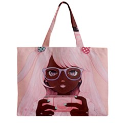 Gamergirl 3 P Zipper Mini Tote Bag
