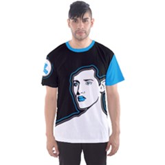 Be Blue Men s Sport Mesh Tee by Contest2492222