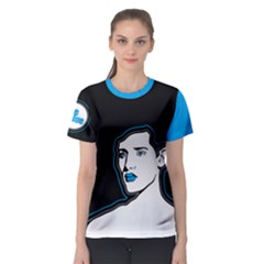 Be Blue Women s Sport Mesh Tee by Contest2492222