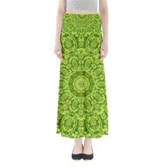 Magic Flowers In  The Deep Valley Of Paradise Maxi Skirts by pepitasart
