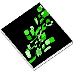 Green Decorative Abstraction Small Memo Pads by Valentinaart