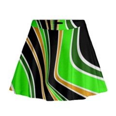 Colors Of 70 s Mini Flare Skirt by Valentinaart