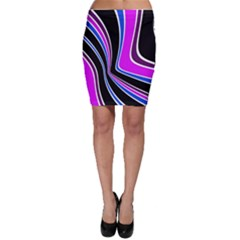 Colors Of 70 s Bodycon Skirt by Valentinaart