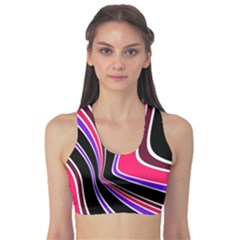 Colors Of 70 s Sports Bra by Valentinaart