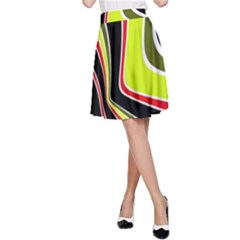 Colors Of 70 s A Line Skirt