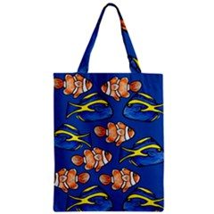 Blue Tang And Clownfish Tropical Ocean  Classic Tote Bag by BubbSnugg