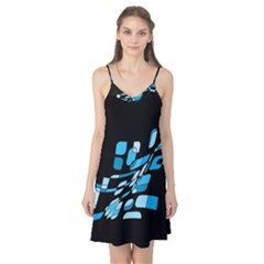 Blue Abstraction Camis Nightgown by Valentinaart