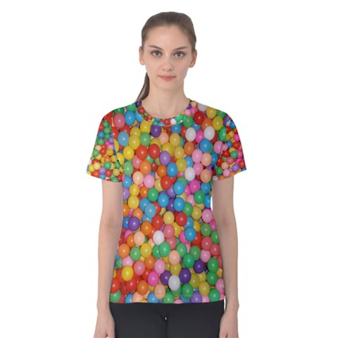Ball Pit Women s Cotton Tee by Arcade