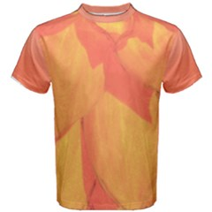 Orange Flower Men s Cotton Tee by Contest2490174