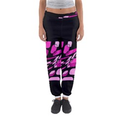 Purple Abstraction Women s Jogger Sweatpants by Valentinaart