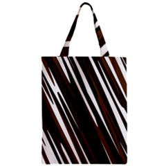 Black Brown And White Camo Streaks Classic Tote Bag by TRENDYcouture