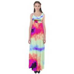 Calm Of The Storm Empire Waist Maxi Dress