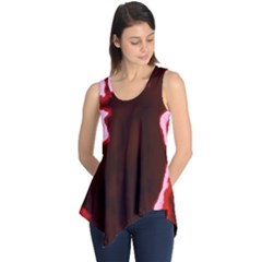 crimson sky Sleeveless Tunic