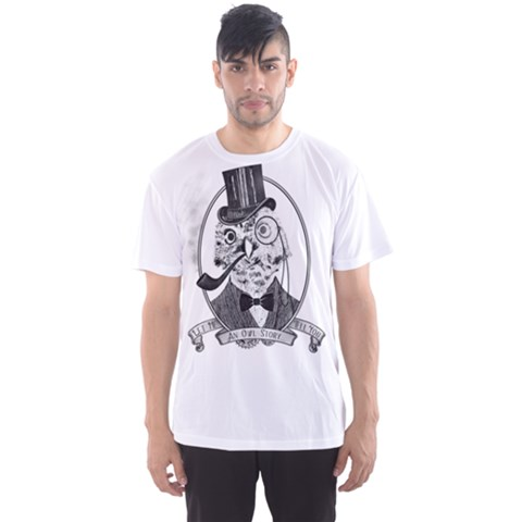 An Owl Story Men s Sport Mesh Tee by Contest2494027