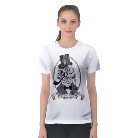 An Owl Story Women s Sport Mesh Tee by Contest2494027