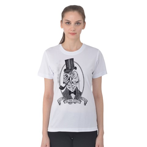 An Owl Story Women s Cotton Tee by Contest2494027